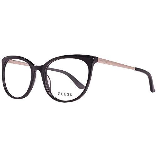 Guess Unisex-Erwachsene GU2640 005 53 Brillengestelle, Schwarz (Nero),