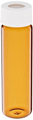 Con rosca tornillo cristal borosilicato muestra Vial