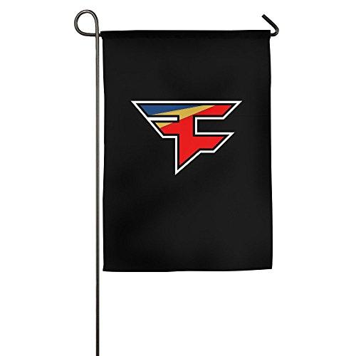 am Logo Home Garden Flagge 12* 18/18* 27, weiß ()