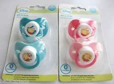 2PK Winnie The Pooh Pacifier Baby Dummy (Blue)