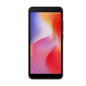 "Xiaomi M1804C3CGB-32 Smartphone Redmi 6 A (5.45"", 2GB RAM, 32 GB, 13 MP, Dual SIM, Android), Azul"