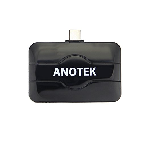 ANOTEK DVB-T DVB-T2 TV Tuner USB Tuner Stick Dongle Freeview DVB-T DVB-T2 DVB-C TV Receiver Tuner für Android Smartphone Tablet Windows PC