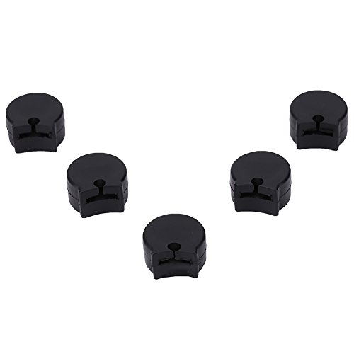 Bnineteenteam Clarinet Thumb Rest Cushion Protector, 5 Stück Gummi-Fingerabdeckung für Klarinetten