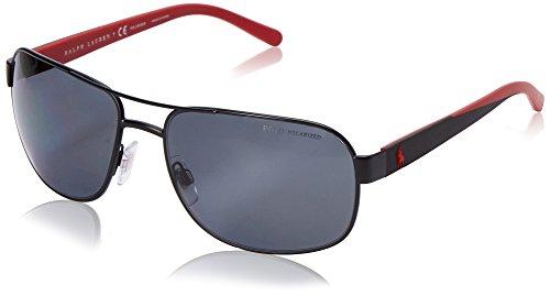 POLO 0PH3093 927781 Montures de lunettes Noir (Mat Black/Polargrey), 62 Homme
