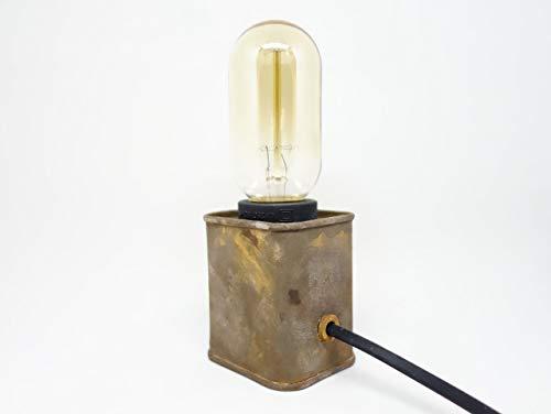 Lámpara de mesa estilo industrial