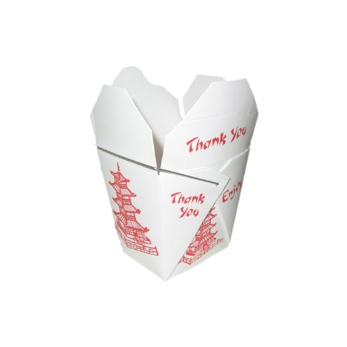 Take Out - Fold Pak Box - Asia Design mit Bügel - 920 ml
