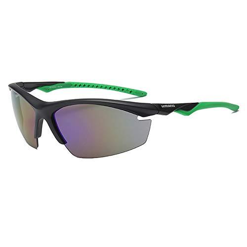 kamier Reitbrille Outdoor polarisierte Farbbewegung explosionsgeschützte Brille grün