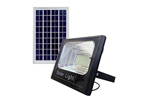 Sistema de iluminación a LED y energía solar con panel solar y batería recargable integrada en el reflector.Equipado con LED SMD de luz blanca y sensor crepuscular integrado en el panel solar para el encendido automático al disminuir la luz.Cable de ...
