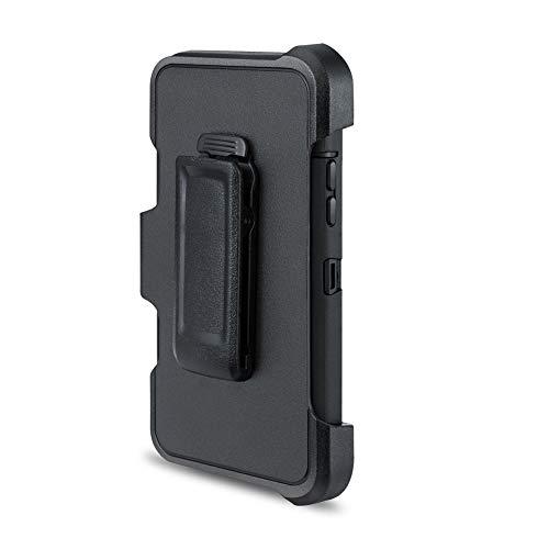 lujiaoshout Ersatz-Gürtelclip Kompatibel mit OtterBox Defender Series Case & Apple iPhone X / 10-Fall-Schwarz (1 Packung) - Apple Iphone Schwarz Holster