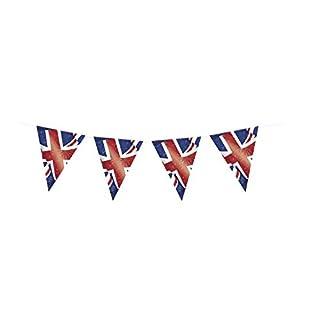 Unique Party 29677 - 12ft Plastic Best of British Union Jack Bunting Flags
