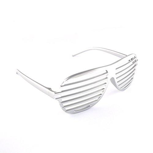 10 x Neuheit-Shutter Shades Sonnenbrille Mischfarben (Mixed Colours)