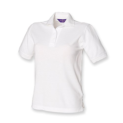 Henbury - Polo -  Femme Blanc - Blanc