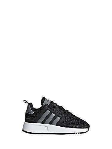 adidas X_PLR El, Scarpe da Ginnastica Basse Unisex-Bimbi, Nero (Core Black/Grey/Footwear White 0), 27 EU
