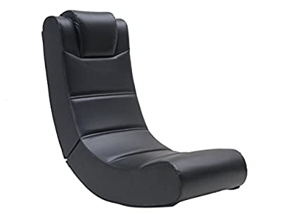 X-Rocker Extreme Junior Gaming Chair, Black produced by X Rocker Factory - quick delivery from UK.