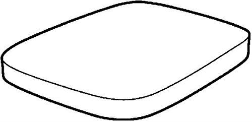 Preisvergleich Produktbild Keramag 572120000 WC-Sitz Renova Nr. 1 Plan, mit Deckel Scharniere: Metall, Absenkauto, weiß