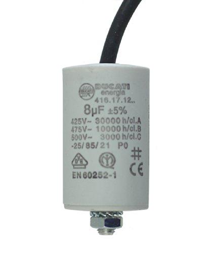 MKP Kondensator Motor und Betriebskondensator 1.5uF 400V mit Kabel