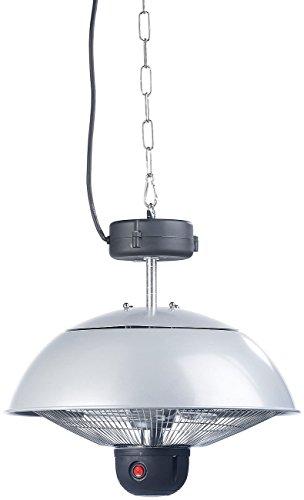 Semptec Quarz-Heizstrahler: Infrarot-Decken-Heizstrahler m. Fernbed, 800-2.000 Watt, LED, IPX4 (Infrarot-Außen-Heizstrahler) - 3