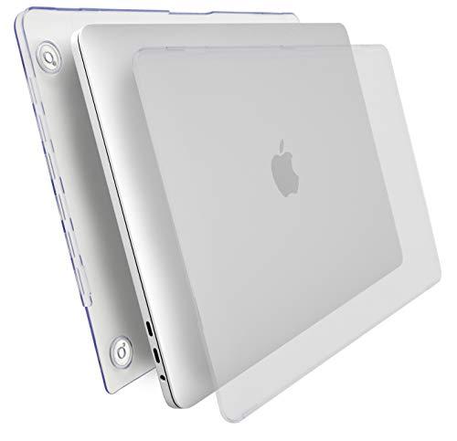 "MyGadget Hülle Hard Case [Matt] - für Apple MacBook New Pro 15"" (Ende 2016 mit USB Type C) Model A1707 & A1990 - Schutzhülle Tasche Hartschalen Cover Transparent"