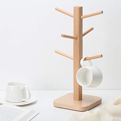 GWLYHZ Storage Base Mug Rack abnehmbare Aufhänger Cup Holder Stand Küche liefert Veranstalter Kaffee Tee Mug Rack