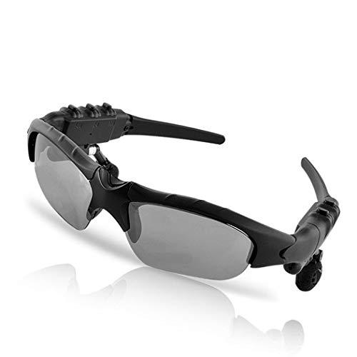 swiftt Sonnenbrillen mit Bluetooth Headset Kopfhörer,Polarisierte Sonnenbrille mit Stereo Freisprecheinrichtung Ohrhörern für iPhone/Android Handy für Radfahren Motorad Bike