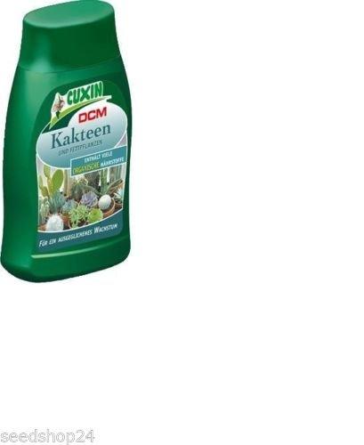 CUXIN DCM Flüssigdünger für Kakteen & Fettpflanzen 250 ml