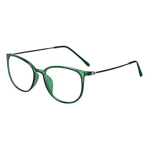 Haodasi Koreanisch Ultraleicht TR90 Kurzsichtigkeit Myopia Brille Kurzsicht Voll Rahmen Kurzsichtig Brille -1.0 -2.0 -3.0 -4.0 -5.0 -5.5 -6.0 Grün (Diese sind nicht Lesen Brille)