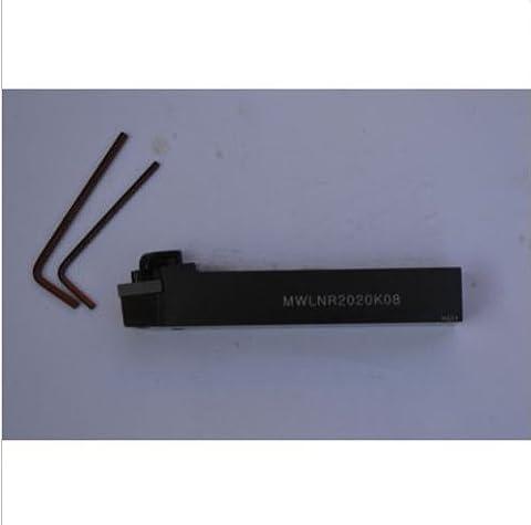 gaob aijia 1pcsmwlnr2020K08(20x125mm) Lathe Index Turning Tool Holder for wnmg0804