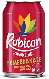 Rubicon Sparkling Pomegranate Beverage, 330 ml