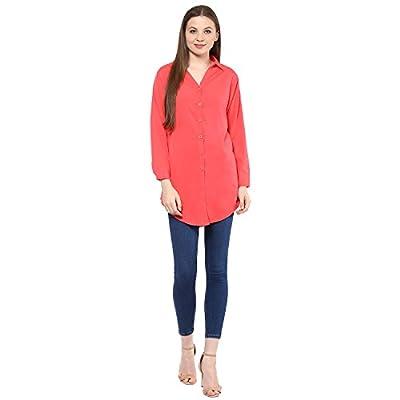 Mayra Women's Crepe Long Shirt