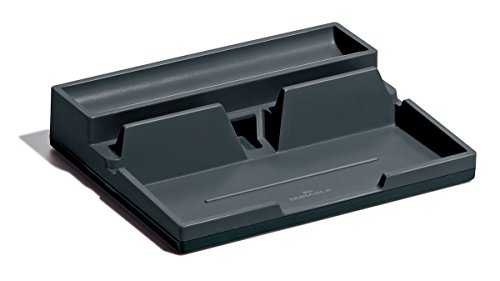 Durable 761358 Varicolor Smart Office Desk Organizer, 1 Stück, anthrazit