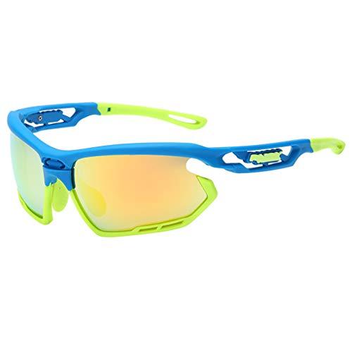 EUCoo Schutzbrillen Fahren Professionelle Polarisierte Radsportbrille Sport Sonnenbrillen...