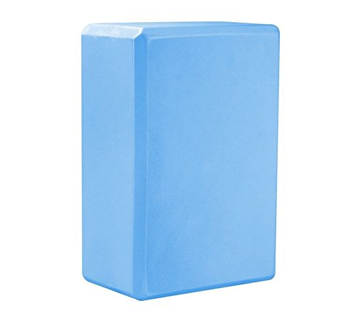 vasyle Yoga Brick Factory 7,6 x 15,2 x 22,9 cm Split Outdoor Erweiterung Touch Stein Kreuz River Bricks, Light Blue 1pcs