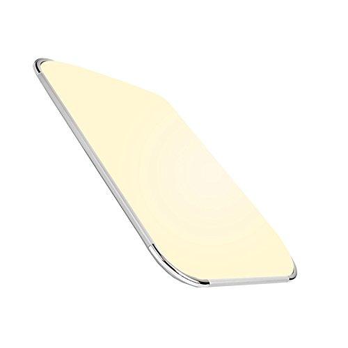 Hengda® LED Deckenleuchte Moderne Esszimmer Deckenbeleuchtung Badezimmer geeignet [Energieklasse A++] (48W Warmweiß)