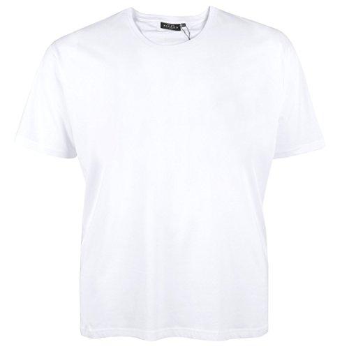 T-Shirt Herren große Größen Kitaro Übergröße weiß Weiß