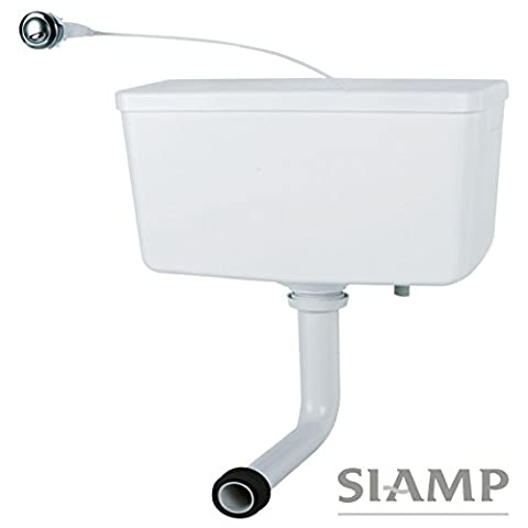 Siamp Trueflow Concealed Back to Wall Hidden Dual Flush Cistern and Push Button 31014718 by True Flow