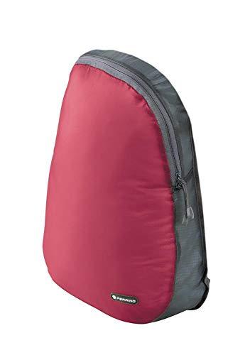 Ferrino O'Hare Ultraleicht Rucksack mit 70g Volumen 15Liter und Regenhaube Rot