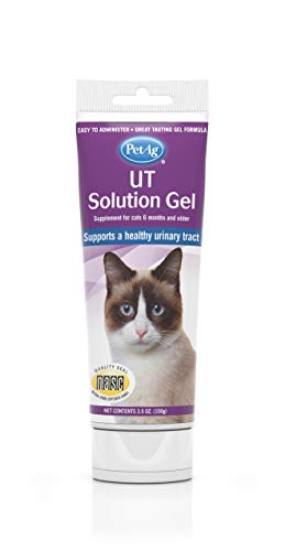 PetAg Urinary Tract UT Solution Gel for Cats 3.5 oz