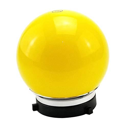 Bowens Monolights (KESOTO 6 Zoll Kugel Diffusor Ball Monolight Speedlite Bounce für Studio Beleuchtung Flash - Gelb)