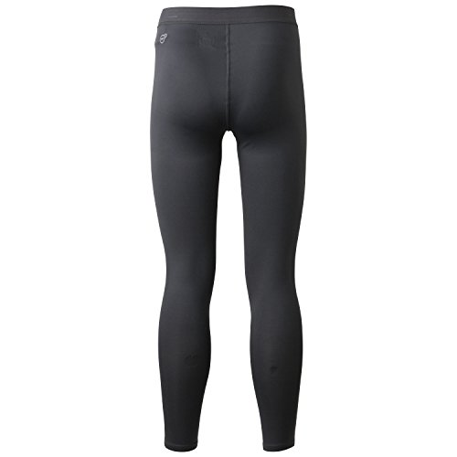 PUMA Herren Hose Lite Long Tights Asphalt