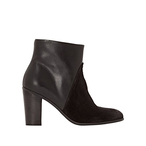 Pastelle Donna Boots In Pelle Veronik Nero