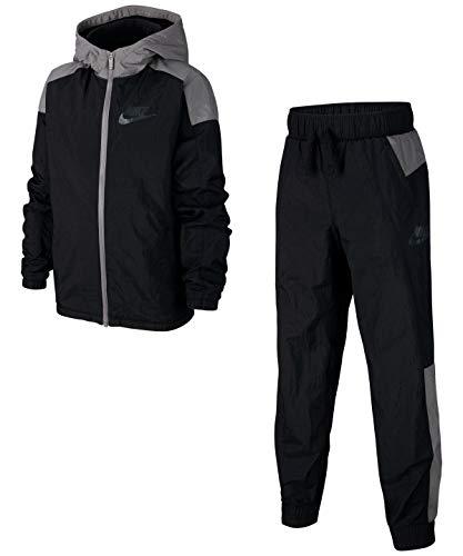 Nike Kinder Anzug Winterized Trainingsanzug, Black/Gunsmoke/White, M