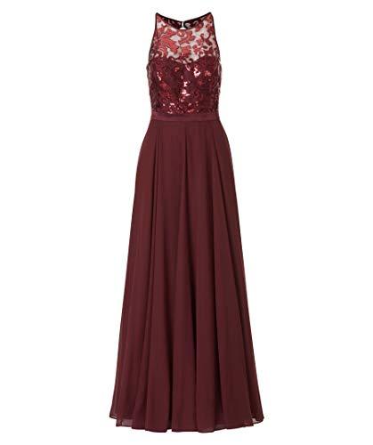 VM Vera Mont Damen Abendkleid Bordeaux (75) 40