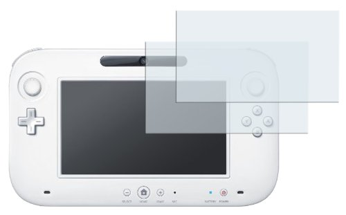 2 x mumbi Displayschutzfolie Nintendo Wii U Schutzfolie CrystalClear unsichtbar