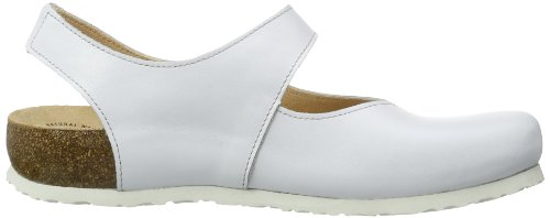 Think  Julia, Sandales pour femme Blanc - Weiß (WEISS-93)