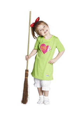Machen Besen Kostüm - Kinder Kostüm Hexe Bibi Blocksberg Karneval Fasching Halloween Gr116