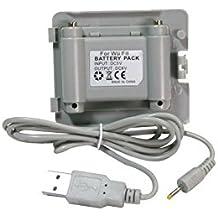 Batería de remplazo para Balance Board de Nintendo Wii Fit - batería con cable de carga
