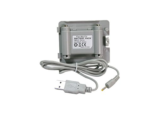 Nintendo Wii Fit Ersatzakku Balance Board - Battery Pack Akku mit Ladekabel