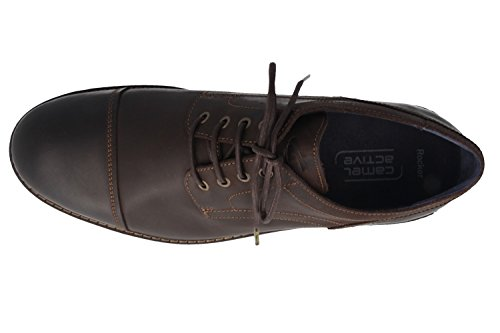 CAMEL aCTIVE-rocker-homme-marron-chaussures en matelas grande taille Marron - Marron