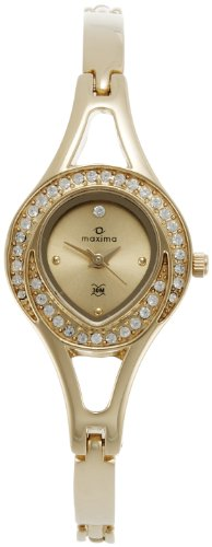 Maxima Analog Gold Dial Women's Watch - 24380BMLY image