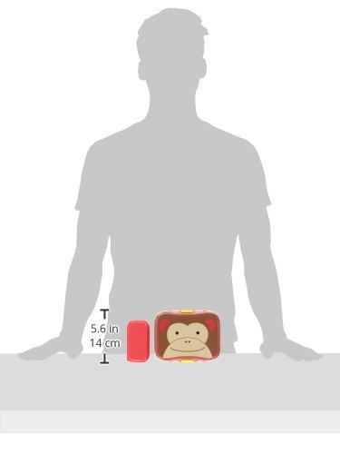 Recipiente para tentempi/és de Skip Hop para ni/ños dise/ño de mono amarillo Bee Talla:24 oz